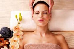 indian head massage lying down